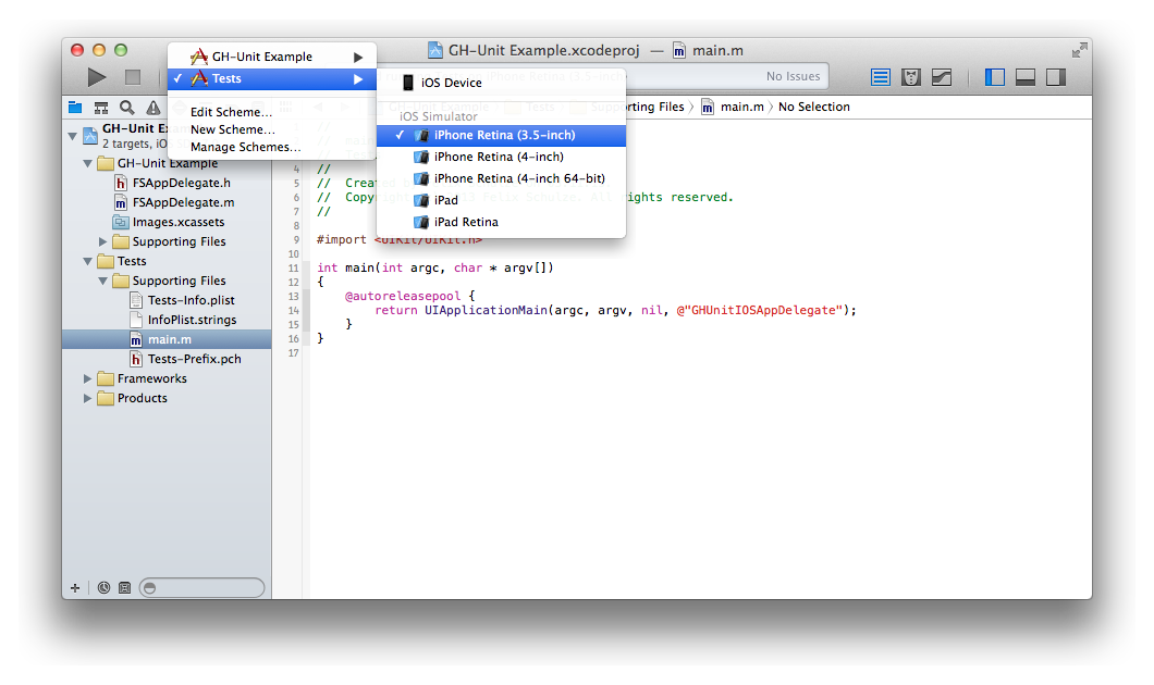 xcode how to run simulator 9.2